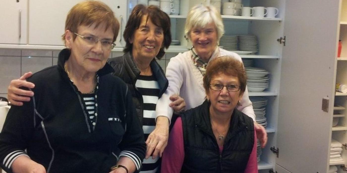 Die Damen vom Stadtteilcafe